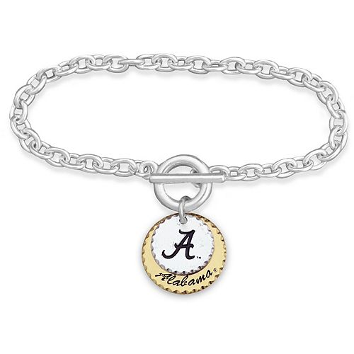 Alabama Crimson Tide Women's Haute Stamp Bracelet