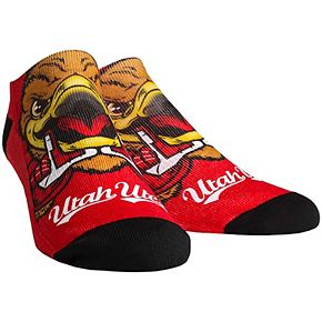 Women's Utah Utes Mascot Low Ankle Socks