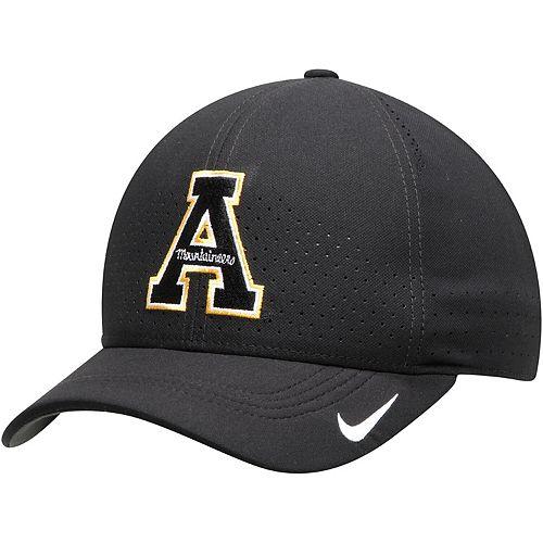 Men's Nike Black Appalachian State Mountaineers Sideline Coaches Classic 99 Flex Hat