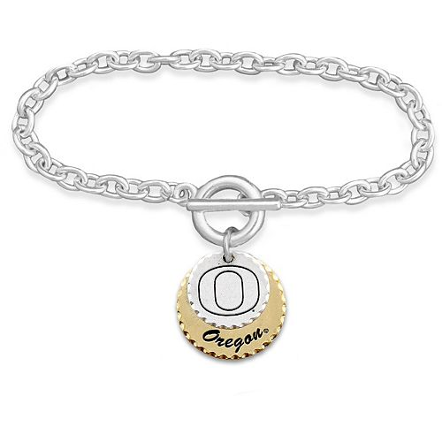 Oregon Ducks Women's Haute Stamp Bracelet