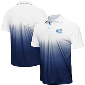 Men's Colosseum Navy North Carolina Tar Heels Magic Team Logo Polo