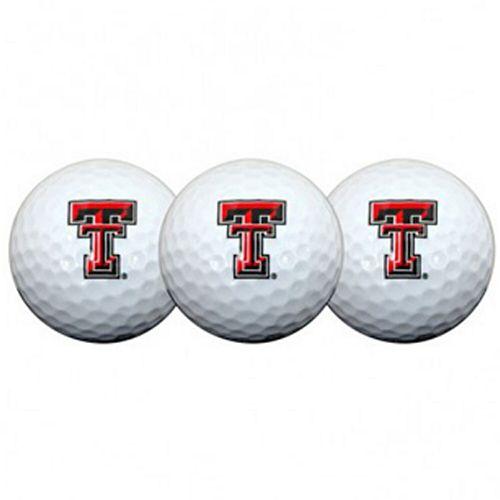 Texas Tech Red Raiders Pack of 3 Golf Balls