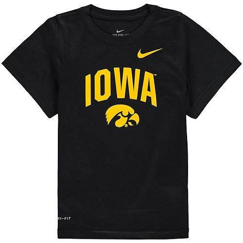 Toddler Nike Black Iowa Hawkeyes Legend Performance T-Shirt