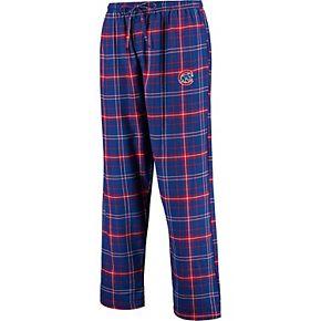 Men's Concepts Sport Royal/Red Chicago Cubs Ultimate Plaid Flannel Pants
