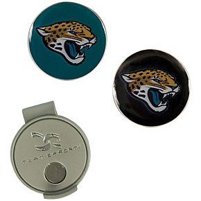 Jacksonville Jaguars Hat Clip & Ball Markers Set