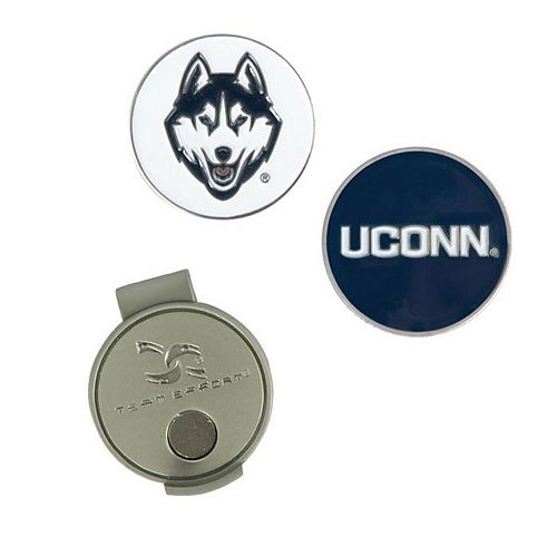 UConn Huskies Hat Clip & Ball Markers Set