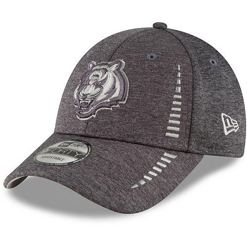 Men's New Era Graphite Cincinnati Bengals Speed Shadow Tech 9FORTY Adjustable Hat