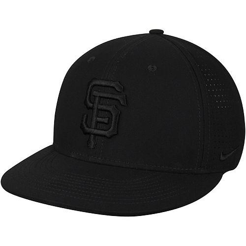 Men's Nike Black San Francisco Giants Aero True Adjustable Hat