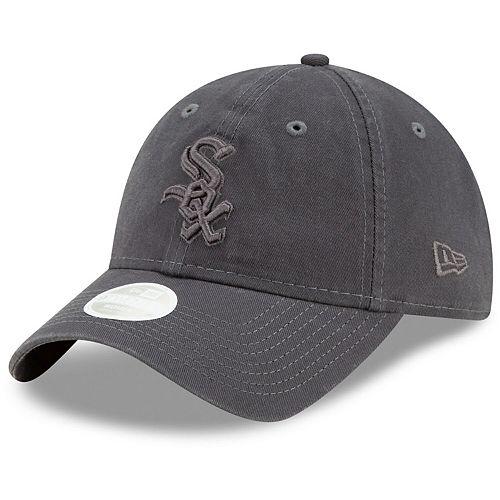 Women's New Era Graphite Chicago White Sox Tonal Core Classic 9TWENTY Adjustable Hat