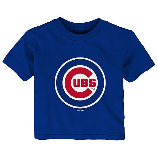 Infant Royal Chicago Cubs Baby Mascot T-Shirt