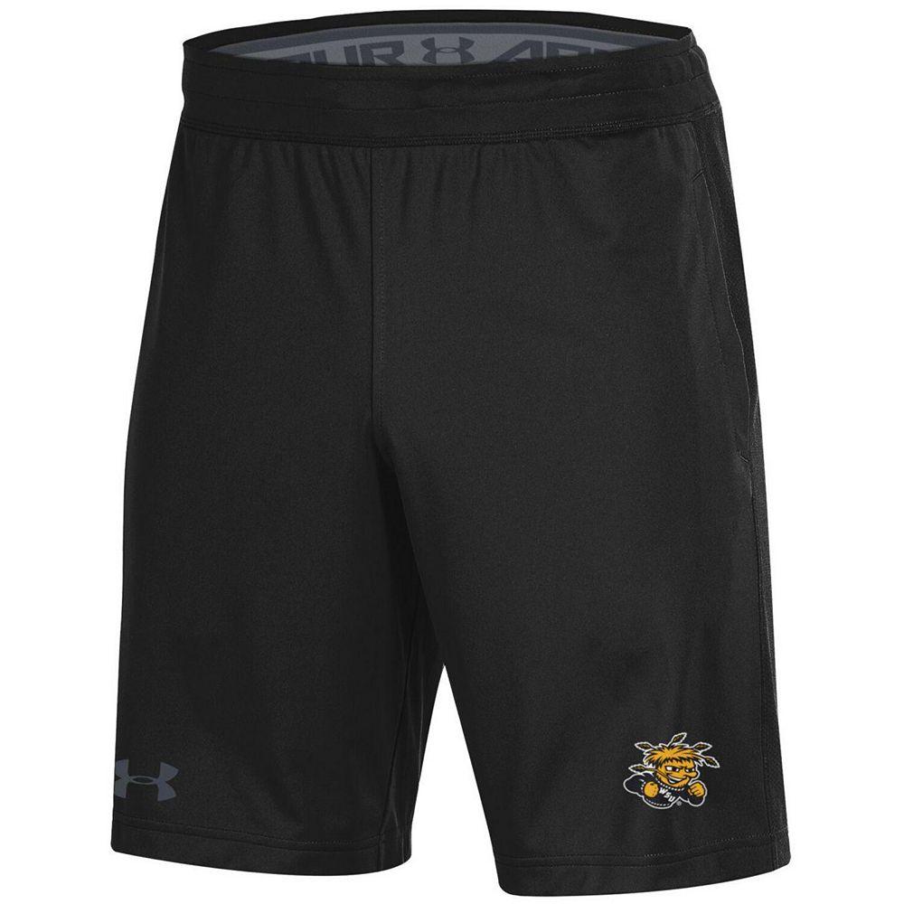 Men's Under Armour Black Wichita State Shockers MK-1 Shorts
