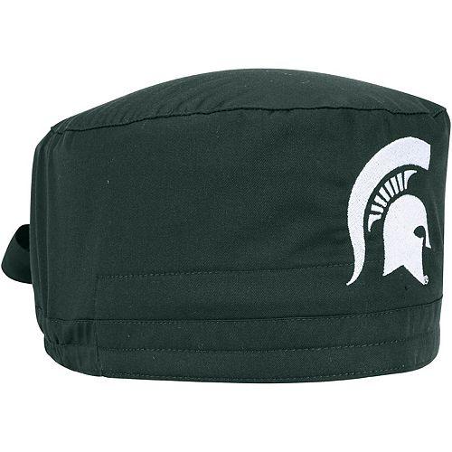Green Michigan State Spartans Team Scrub Cap