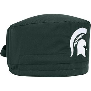 Green Michigan State Spartans Team Scrub Cap
