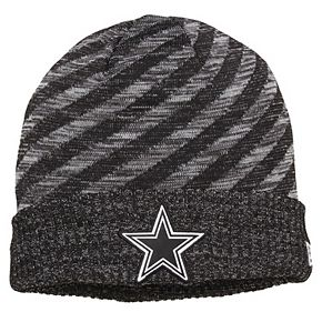 Men's New Era Black Dallas Cowboys 2018 NFL Sideline Cold Weather Black TD Knit Hat
