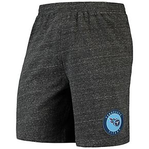 Men's Concepts Sport Charcoal Tennessee Titans Pitch Knit Shorts