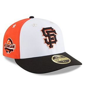 Men's New Era White/Black San Francisco Giants 2018 MLB All-Star Game On-Field Low Profile 59FIFTY Fitted Hat
