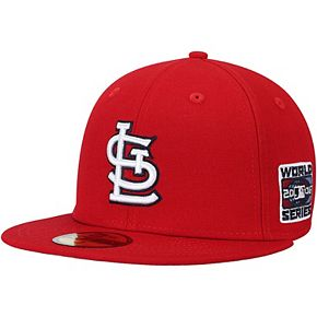 Men's New Era Red St. Louis Cardinals 2006 World Series Wool 59FIFTY Fitted Hat