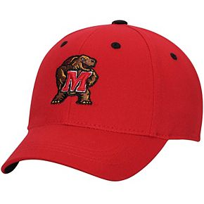 Maryland Terrapins Top of the World Youth The Rookie One-Fit Hat - Red