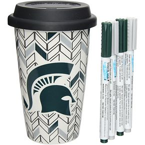 Michigan State Spartans Just Add Color Travel Cup
