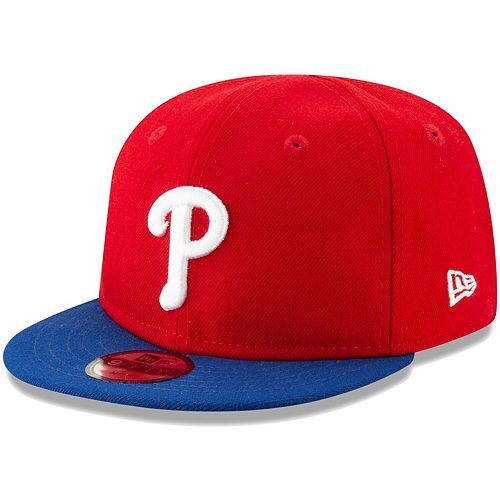Infant New Era Red Philadelphia Phillies My First 9FIFTY Adjustable Hat
