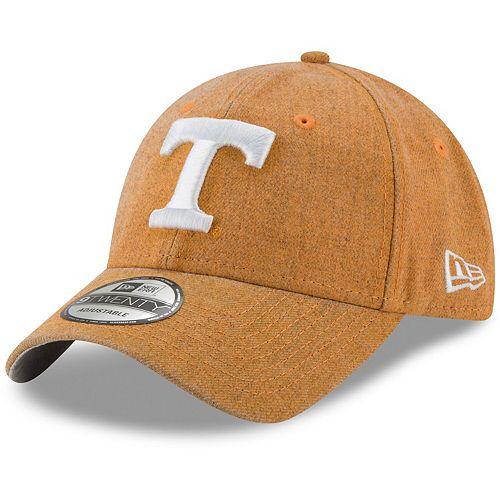 Men's New Era Tennessee Orange Tennessee Volunteers Rugged Heather 9TWENTY Adjustable Hat