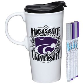 Kansas State Wildcats 17oz. Just Add Color Perfect Cup