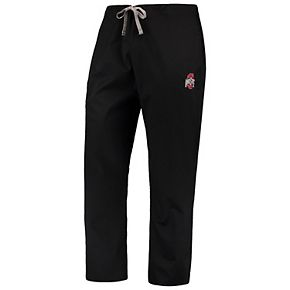 Black Ohio State Buckeyes Drawstring Cargo Pants