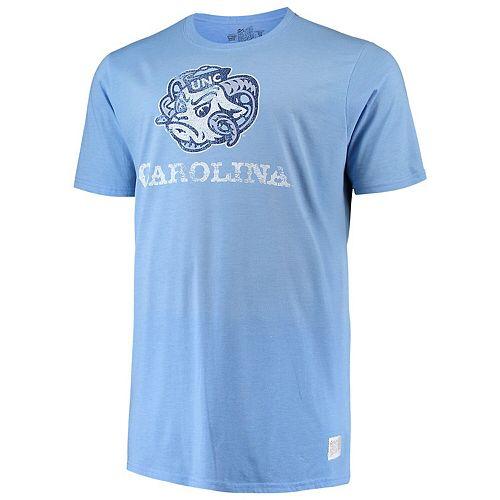 Men's Original Retro Brand Carolina Blue North Carolina Tar Heels Big & Tall Mock Twist T-Shirt