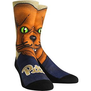 Men's Pitt Panthers Mascot Crew Socks