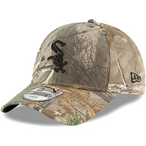 Men's New Era Camo Chicago White Sox Realtree 49FORTY Fitted Hat