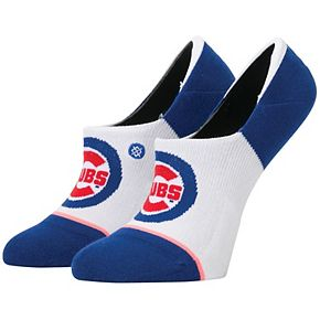 Women's Stance Chicago Cubs Invisible No Show Socks