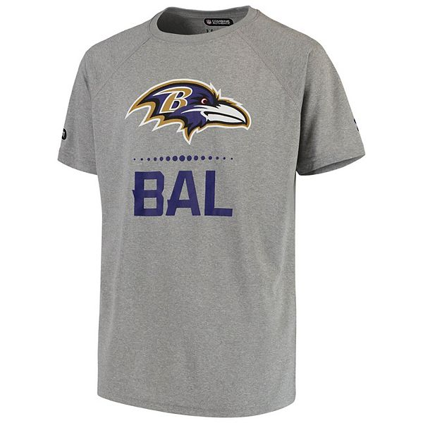 Youth Under Armour Gray Baltimore Ravens Combine Authentic ...