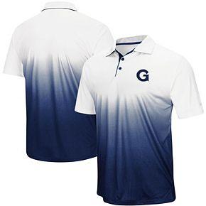 Men's Colosseum Navy Georgetown Hoyas Magic Team Logo Polo