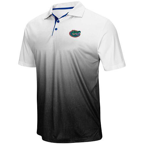 Men's Colosseum Heathered Gray Florida Gators Magic Team Logo Polo
