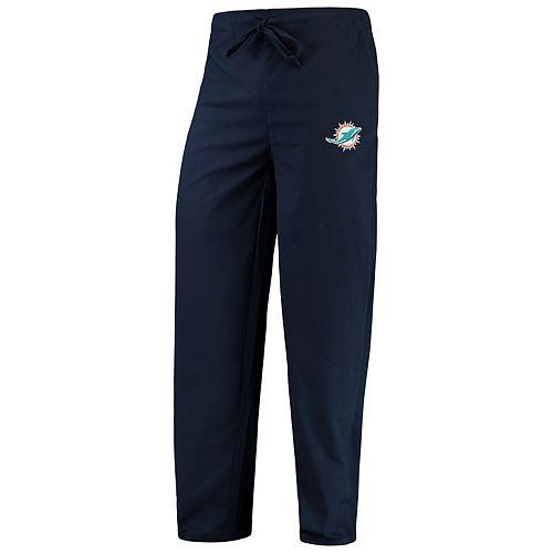 Men's Concepts Sport Navy Miami Dolphins Scrub Pants