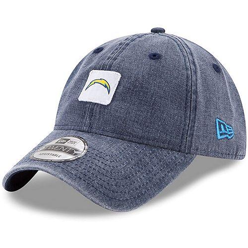 Men's New Era Navy Los Angeles Chargers Stamped 9TWENTY Adjustable Hat