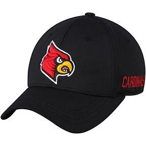 Men's Top of the World Black Louisville Cardinals Choice Flex Hat