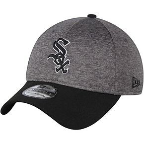 Men's New Era Heathered Gray/Black Chicago White Sox Shadow Tech 39THIRTY Flex Hat