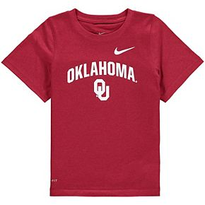 Toddler Nike Crimson Oklahoma Sooners Legend Performance T-Shirt