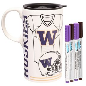 Washington Huskies Just Add Color Tall Boy Mug