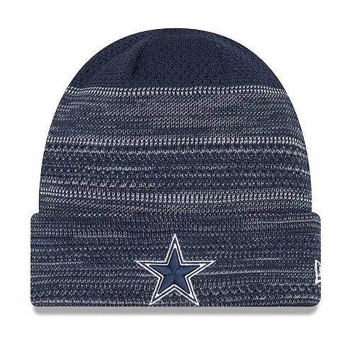 Youth New Era Navy Dallas Cowboys 2017 Sideline Official TD Knit Hat