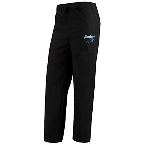 Women's Concepts Sport Black Carolina Panthers Scrub Pants