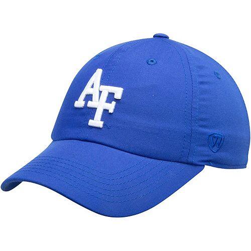 Men's Top of the World Royal Air Force Falcons Interlocking Logo Staple Adjustable Hat