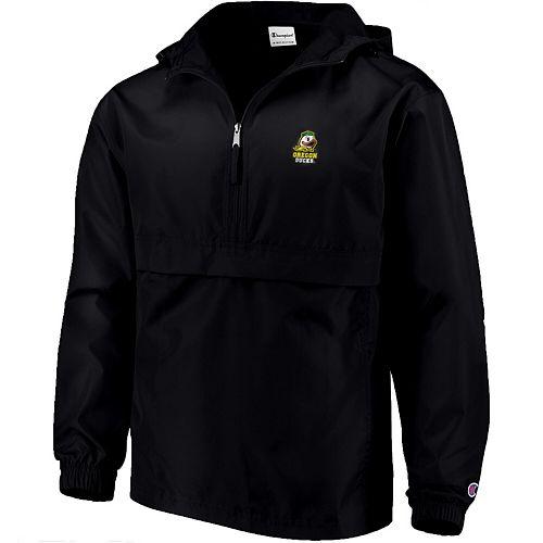 Men's Champion Black Oregon Ducks Packable Jacket