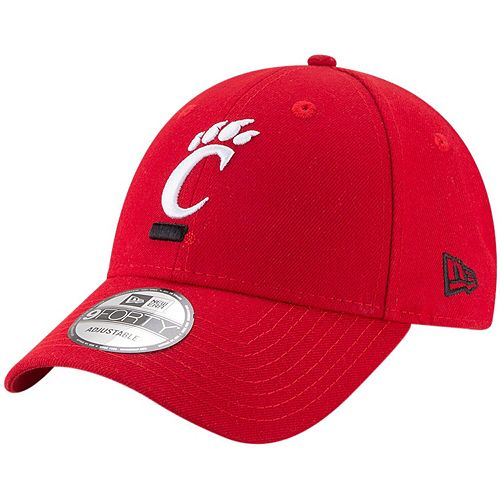 Men's New Era Red Cincinnati Bearcats The League 9FORTY Adjustable Hat