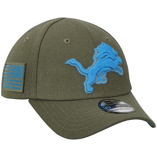 Toddler New Era Olive Detroit Lions 2018 Salute to Service 39THIRTY Flex Hat