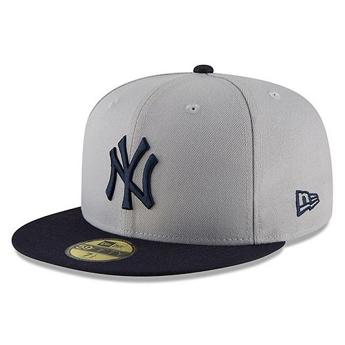 Men's New Era Gray/Navy New York Yankees 2018 Players' Weekend On-Field 59FIFTY Fitted Hat