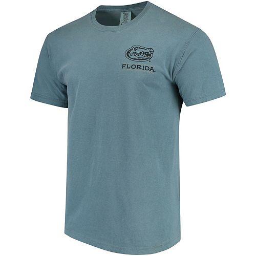 Men's Blue Florida Gators State Scenery Comfort Colors T-Shirt