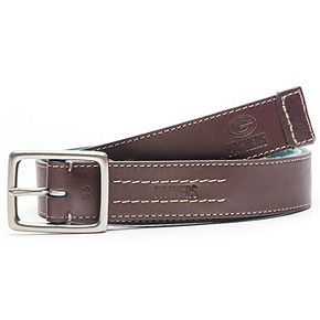 Men's  Brown Green Bay Packers Alumni Reversible Belt