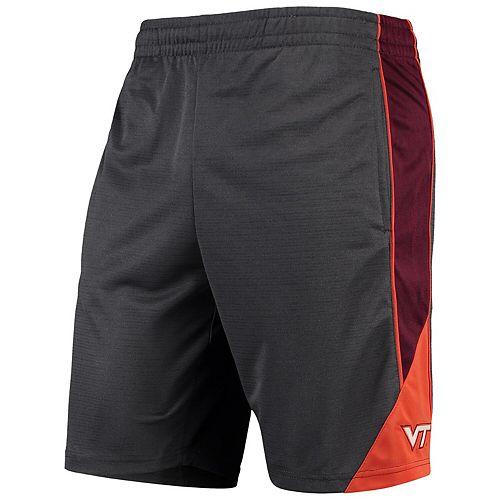 Men's Colosseum Charcoal Virginia Tech Hokies Turnover Team Shorts